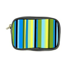 Simple Lines Rainbow Color Blue Green Yellow Black Coin Purse