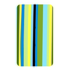 Simple Lines Rainbow Color Blue Green Yellow Black Memory Card Reader