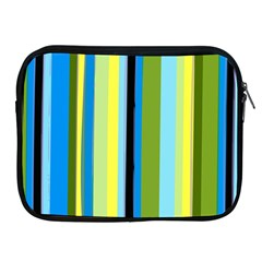 Simple Lines Rainbow Color Blue Green Yellow Black Apple Ipad 2/3/4 Zipper Cases by Alisyart