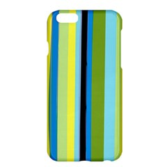 Simple Lines Rainbow Color Blue Green Yellow Black Apple Iphone 6 Plus/6s Plus Hardshell Case