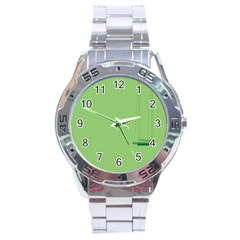 Swing Children Green Kids Stainless Steel Analogue Watch