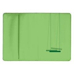 Swing Children Green Kids Samsung Galaxy Tab 10 1  P7500 Flip Case