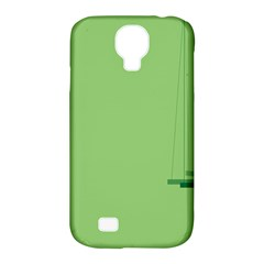 Swing Children Green Kids Samsung Galaxy S4 Classic Hardshell Case (pc+silicone) by Alisyart