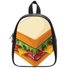 Sandwich Breat Chees School Bags (small)