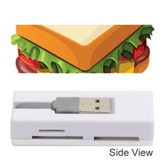 Sandwich Breat Chees Memory Card Reader (stick)