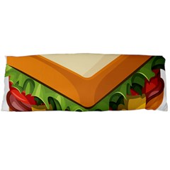Sandwich Breat Chees Body Pillow Case (dakimakura)