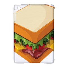 Sandwich Breat Chees Apple Ipad Mini Hardshell Case (compatible With Smart Cover)