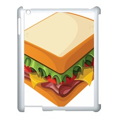 Sandwich Breat Chees Apple Ipad 3/4 Case (white)