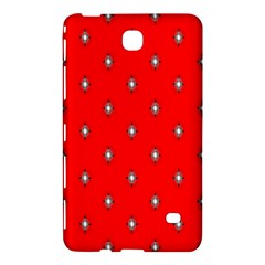 Simple Red Star Light Flower Floral Samsung Galaxy Tab 4 (7 ) Hardshell Case  by Alisyart