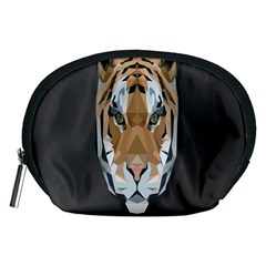 Tiger Face Animals Wild Accessory Pouches (medium)