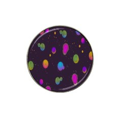 Spots Bright Rainbow Color Hat Clip Ball Marker (4 Pack) by Alisyart