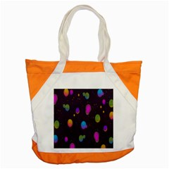 Spots Bright Rainbow Color Accent Tote Bag by Alisyart