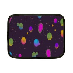 Spots Bright Rainbow Color Netbook Case (small)  by Alisyart