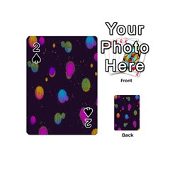 Spots Bright Rainbow Color Playing Cards 54 (mini)
