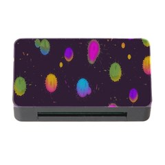 Spots Bright Rainbow Color Memory Card Reader With Cf by Alisyart