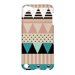 Triangle Wave Chevron Grey Apple Ipod Touch 5 Hardshell Case