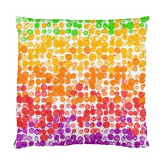 Spots Paint Color Green Yellow Pink Purple Standard Cushion Case (two Sides) by Alisyart
