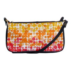 Spots Paint Color Green Yellow Pink Purple Shoulder Clutch Bags