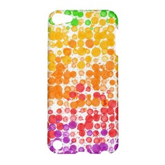 Spots Paint Color Green Yellow Pink Purple Apple Ipod Touch 5 Hardshell Case