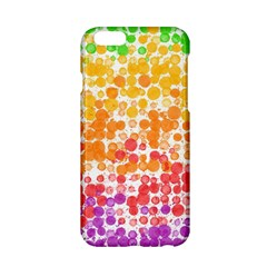 Spots Paint Color Green Yellow Pink Purple Apple Iphone 6/6s Hardshell Case by Alisyart
