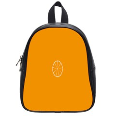 Lime Orange Fruit Fres School Bags (small)