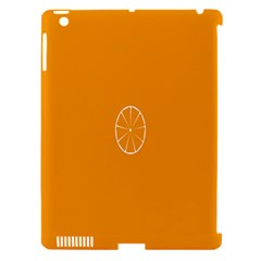 Lime Orange Fruit Fres Apple Ipad 3/4 Hardshell Case (compatible With Smart Cover) by Alisyart