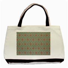 Vintage Floral Tumblr Quotes Basic Tote Bag by Alisyart