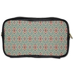 Vintage Floral Tumblr Quotes Toiletries Bags 2 Side by Alisyart