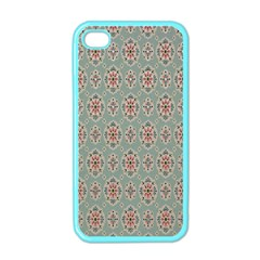 Vintage Floral Tumblr Quotes Apple Iphone 4 Case (color)