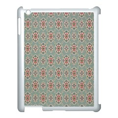 Vintage Floral Tumblr Quotes Apple Ipad 3/4 Case (white)