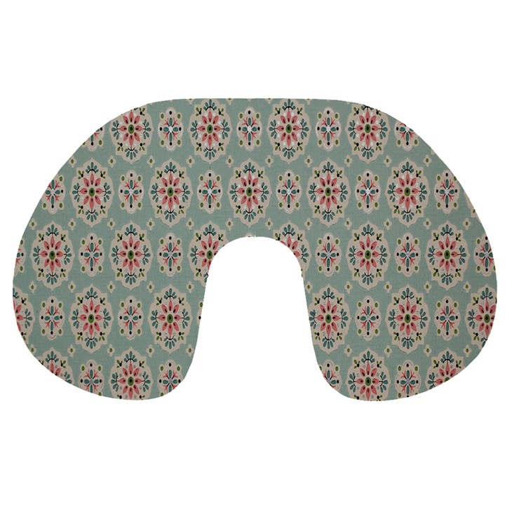 Vintage Floral Tumblr Quotes Travel Neck Pillows