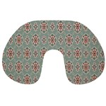 Vintage Floral Tumblr Quotes Travel Neck Pillows Back