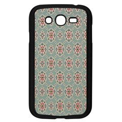 Vintage Floral Tumblr Quotes Samsung Galaxy Grand Duos I9082 Case (black)