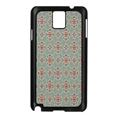 Vintage Floral Tumblr Quotes Samsung Galaxy Note 3 N9005 Case (black) by Alisyart