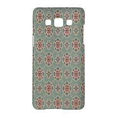 Vintage Floral Tumblr Quotes Samsung Galaxy A5 Hardshell Case