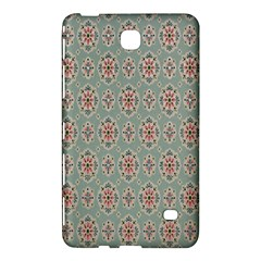Vintage Floral Tumblr Quotes Samsung Galaxy Tab 4 (8 ) Hardshell Case  by Alisyart