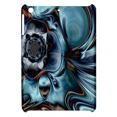 Light Color Floral Grey Apple Ipad Mini Hardshell Case by Alisyart