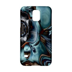 Light Color Floral Grey Samsung Galaxy S5 Hardshell Case  by Alisyart