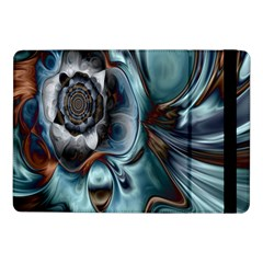 Light Color Floral Grey Samsung Galaxy Tab Pro 10 1  Flip Case