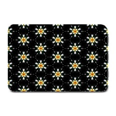 Background For Scrapbooking Or Other With Flower Patterns Plate Mats by Nexatart