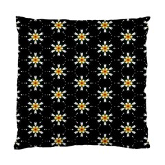 Background For Scrapbooking Or Other With Flower Patterns Standard Cushion Case (two Sides) by Nexatart