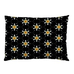 Background For Scrapbooking Or Other With Flower Patterns Pillow Case by Nexatart