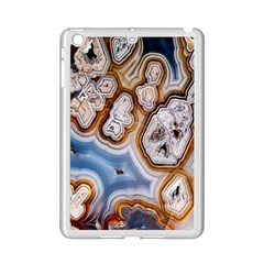 Honey Comb Agate Gold Ipad Mini 2 Enamel Coated Cases