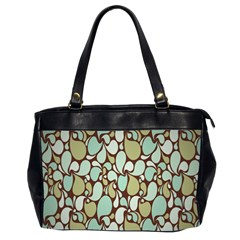 Leaf Camo Color Flower Floral Office Handbags (2 Sides)
