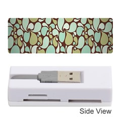 Leaf Camo Color Flower Floral Memory Card Reader (stick)