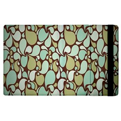 Leaf Camo Color Flower Floral Apple Ipad 3/4 Flip Case by Alisyart