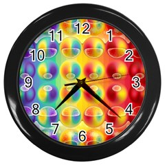 Background For Scrapbooking Or Other Wall Clocks (black) by Nexatart