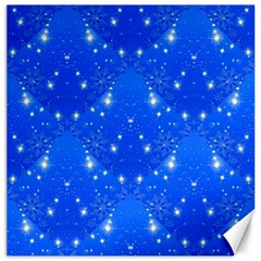 Background For Scrapbooking Or Other With Snowflakes Patterns Canvas 20  X 20   by Nexatart