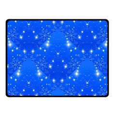 Background For Scrapbooking Or Other With Snowflakes Patterns Fleece Blanket (small)