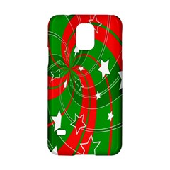 Background Abstract Christmas Samsung Galaxy S5 Hardshell Case  by Nexatart